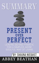 Summary of Present Over Perfect PDF