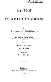Aesthetik, oder Wissenschaft des schönen: Band 3,Ausgabe 4
