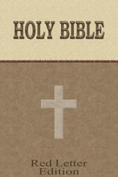 King James Bible Touch - Red Letter Edition - KJV