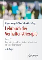 Lehrbuch der Verhaltenstherapie  Band 2 PDF
