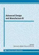 Advanced Design and Manufacture III