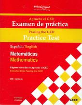 GED Practice Exam: English / Spanish on Facing Pages