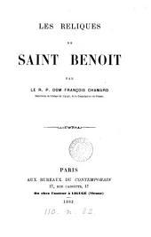 Les reliques de saint Benoît