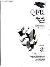 Quarterly financial report for manufacturing, mining and trade corporations: Issues 1-2