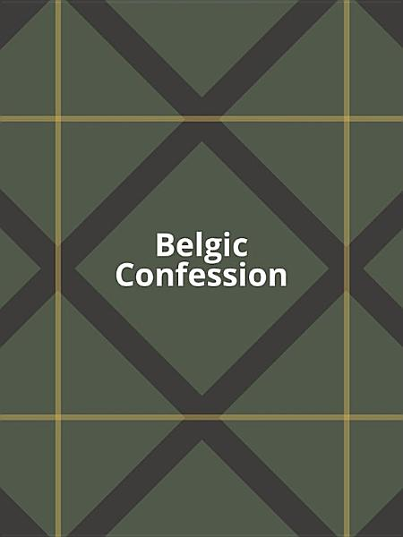 Download Belgic Confession Book