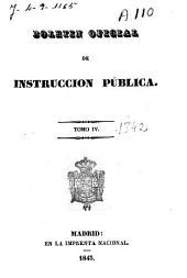 Boletín oficial de instrucción pública: Volumen 4