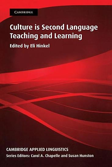 Culture in Second Language Teaching and Learning PDF