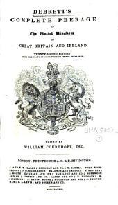 Debrett's Complete Peerage of the United Kingdom of Great Britain and Ireland
