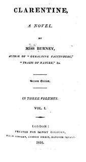 Clarentine: A Novel, Volume 1