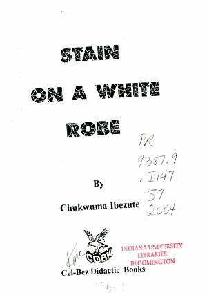 Stain on a White Robe PDF