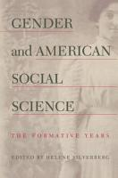 Gender and American Social Science PDF