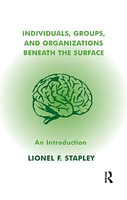 Individuals  Groups and Organizations Beneath the Surface