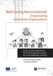 Well-being Reconsidered: Empowering Grassroots Organizations