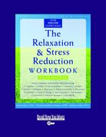 The Relaxation   Stress Reduction Workbook PDF