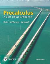 Precalculus: A Unit Circle Approach, Edition 3