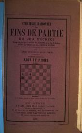 Stratégie raisonnée des fins de partie du jeu d'échecs