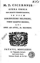 M.T. Ciceronis Opera omnia, 14: cum delectu commentariorum, in usum serenissimi delphini