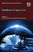 Handbook of Space Law PDF