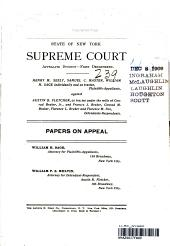 State Of New York Supreme Court Appellate Division-First Department