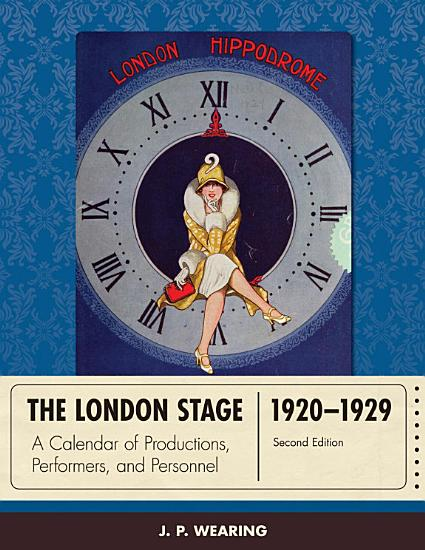 The London Stage 1920 1929 PDF