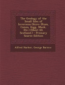 The Geology of the Small Isles of Inverness Shire PDF