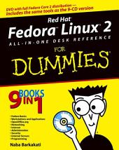 Red Hat Fedora Linux 2 All-in-One Desk Reference For Dummies