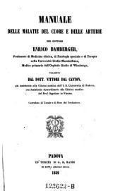 Manuale delle malattie del cuore e delle arterie tradatto da Vittore Del Canton