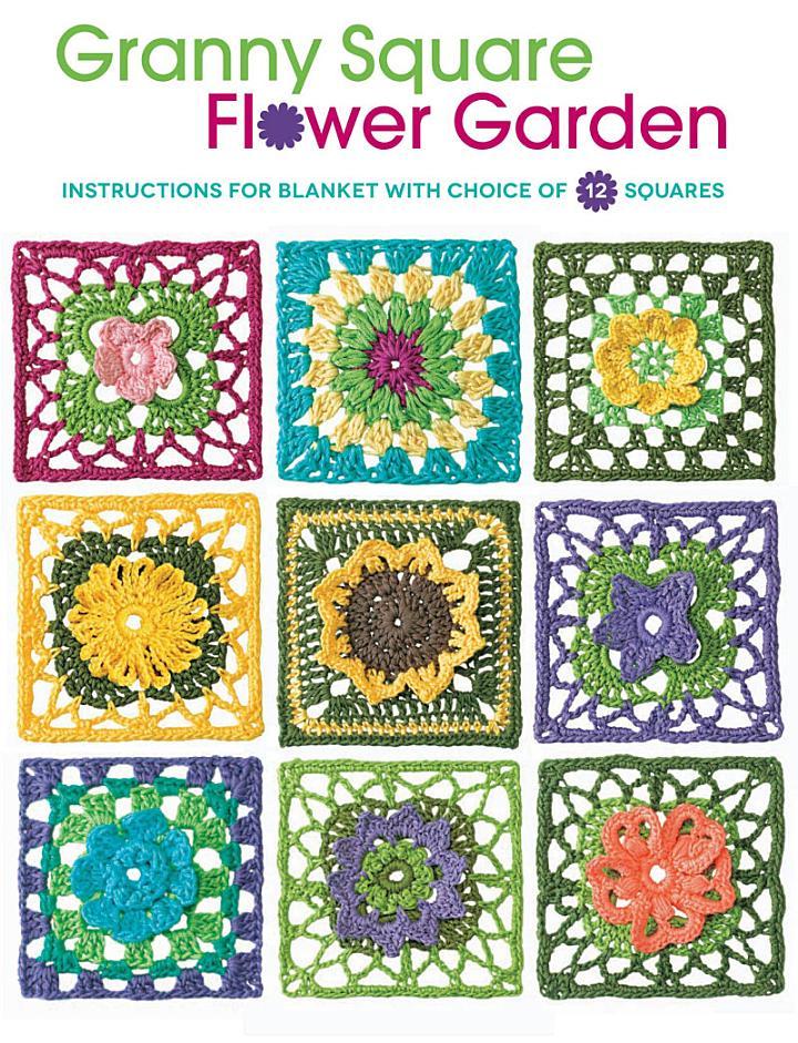 Granny Square Flower Garden