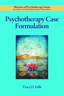 Psychotherapy Case Formulation PDF