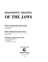 Diagnostic Imaging of the Jaws