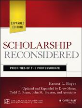 Scholarship Reconsidered: Priorities of the Professoriate, Edition 2