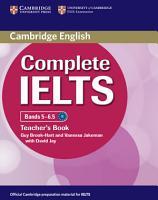 Complete IELTS Bands 5 6 5 Teacher s Book PDF