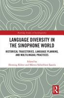 Language Diversity in the Sinophone World PDF