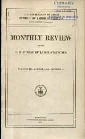 Monthly review of the U.S. Bureau of Labor Statistics: Volume 3, Issue 2