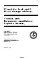 Criminal Alien Requirement II, [FL, MS, GA]