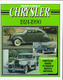 Standard Catalog of Chrysler  1924 1990 PDF