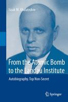 From the Atomic Bomb to the Landau Institute PDF