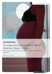 Teenagerschwangerschaften. Wenn Mädchen Mütter werden: Wie kann es jungen Müttern gelingen ihr Leben mit Kind zu meistern?