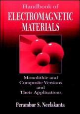 Handbook of Electromagnetic Materials