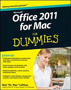 Office 2011 for Mac For Dummies PDF