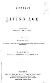 Littell's Living Age: Volume 27