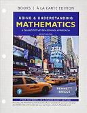 Using   Understanding Mathematics  Books a la Carte Edition