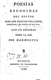 Poesías escogidas del doctor Frey Lope Felix de Vega Carpio