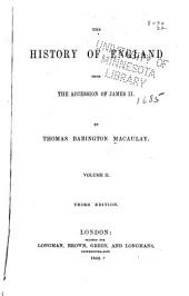 The history of England from the accession of James the Second: Volume 2