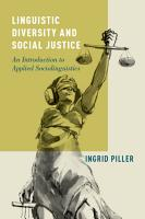 Linguistic Diversity and Social Justice PDF