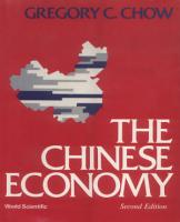 The Chinese Economy   2nd Edition PDF