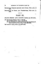 The Penal Code of California: Enacted in 1872, as Amended in 1883