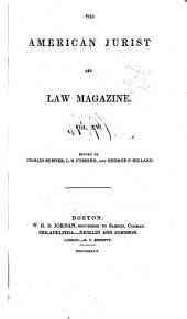 The American Jurist and Law Magazine: Volume 16