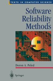 Software Reliability Methods