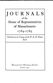 Journals of the House of Representatives of Massachusetts: Volume 41